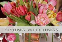 ♥♥♥Spring Weddings / Inspiration ideas for spring time weddings. We pin the latest trends to keep you in the loop!