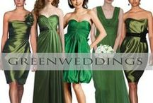 ♥♥♥Green Weddings | St. Patrick's Day Inspired Weddings / Walking down the Emerald Isle or enjoy Beautiful and fun St. Patrick's Day wedding inspirations. We pin the latest trends to keep you in the loop!