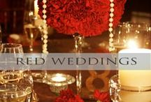 ♥♥♥Red Wedding | Valentine Wedding / Red the color of love, get your inspiration and ideas here! We pin the latest trends to keep you in the loop!