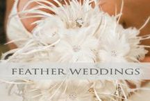 ♥♥♥Feather Weddings / Soft, elegant and beautiful. Let feathers accent your special day!