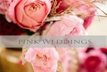 ♥♥♥Pink Weddings / Light and romantic - or -  bright and energetic pink is so beautiful for weddings! We pin the latest trends to keep you in the loop!
