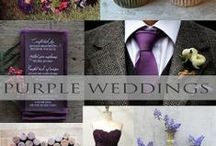 ♥♥♥Purple Weddings / Purple weddings are so royal! We pin the latest trends to keep you in the loop!