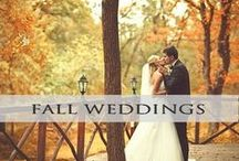 ♥♥♥Fall Weddings / Beautiful warm autumn hues inspiration for the perfect fall wedding! We pin the latest trends to keep you in the loop!