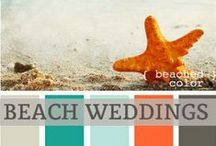 ♥♥♥Beach Themed Weddings / Ocean breeze and sand make the ultimate romantic setting for  a beach themed wedding. We pin the latest trends to keep you in the loop!