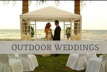 ♥♥♥Outdoor Wedding Inspiration / Thinking about having an outdoor wedding? Follow this board for the ultimate garden party!
