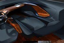 Automotive Interior / Car interior, pictures and sketches