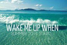 SUMMER! / Summer. Summer. Summer. Everything summer!