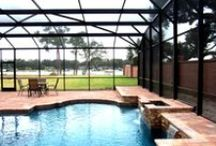 Screen Pool Enclosure - Domes / Call Design Pro Screens today for all your Central Florida Pool enclosure needs & repair services!  407-339-1090
