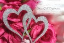 ♥♥♥Glitter Weddings / Add fabulous sparkle and shine with glitter to your wedding, birthday, anniversary or any event!