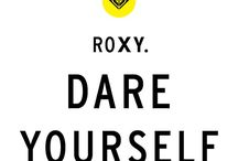 """Roxy Surf / """"Let the sea set you free"""""""