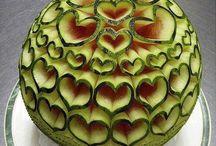 Art ~ FOOD / #Art, #ArtFood, #Food. Food art so Beautiful that probably wouldn't eat :)