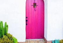 Exterior Vava / They say that when you enter a space....the front door should set the tone of the environment. Here are some of our Vava favorites.
