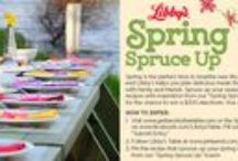 Spring Spruce Up / THE SWEEPSTAKES HAS ENDED.  Thank you for your participation!