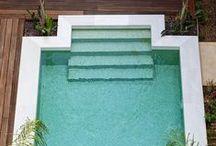 Swimming Pools / #swimmingpool #piscina #amazing #design #minimal #water #agua #architecture #arquitectura
