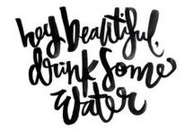 Stay Hydrated / Tips and benefits to staying hydrated!