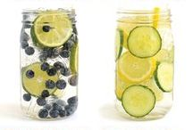 Water Infusions / Ideas and recipes to boost your filtered water with delicious flavor.