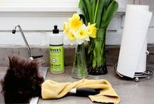 Cleaning Tips / Keep your home and other spaces fresh and clean with these environmentally friendly tips!