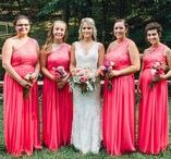 Bridal Party Inspiration / These are the people that mean the most to you and that you have chosen to have stand by your side on one of the most special day in your lives.