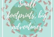 Best of Small footprints, big adventures / Here are all of the best posts from our blog Small footprints, big adventures.