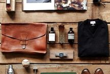 Every Classy Stuff You Need / It's a board that fill with classy vintage stuffs - start it from leather suitcase, bag, watches, wallet, footwear etc
