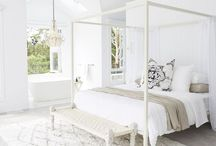 Master bed / Beach house master bedroom inspired