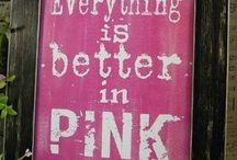 Colors ~ PINK / Anything Pink! #pink
