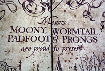 Witchcraft & Wizardry / All things Harr Potter, books and movies.