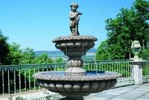 Fantasieco Brunnen / #garten #dekoration #brunnen #gussstein #kunststein