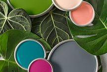 Колористика. Paint colors BHG