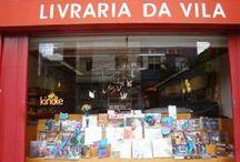 Vitrine da Livraria da Vila da Fradique / Lançamento do Mãos Mágicas e Vítor e o invisível