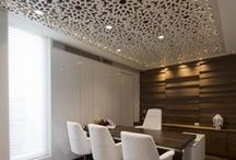 Ceilings: The Fifth Wall / Albert Hadley, once said that the most ignored the ceilings were part of the design of the room.  I need to take his advice and start taking my design up a notch and dressing up some ceilings. I am in Luv with grass cloth on the ceiling or glossy colors, or plaster, etc. I also saw this image on Pinterest. Thinking about ceilings as a fifth wall changes, as I imagine the room. Opens my mind to new ideas.I love cool Ceilings.