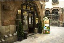 Restaurante Els 4 Gats, imágenes / El modernismo barcelonés se manifiesta en el interior del restaurante Els 4 Gats.