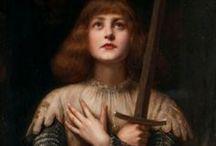 św.Joanna d'Arc / by Maria Magdalena Tekielska