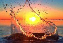 Вода. Water / Вода, вода....кругом вода Моря, океаны, озера, реки, ручейки, фонтаны