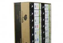 VALUE PACKS / The colorFabb Value pack offers, like the name suggests, great value for money. This awesome box that you can configure yourself packs a lot of material for a great price. Available at: http://colorfabb.com/value-pack