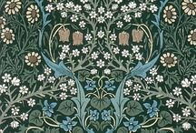 """William Morris Designs / Autumn Hamilton, one of the main characters in my new romance series, """"Finch's Crossing,' would love these William Morris designs and I wouldn't be surprised to find them in her home! William Morris was a well-known English textile designer in the Arts and Crafts Movement of the the late nineteenth and early twentieth century."""