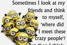 Friends..can't live without them / Things that make me think of my friends