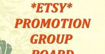 ** {ETSY Promotion Group Board} ** / Promote your Etsy Shop Here! For an invite to this group board: ►1. Follow the board. ►2. Follow my Etsy shop: http://www.etsy.com/shop/NinasStudio. I will follow your shop in return. ►3. Convo me via Etsy your Pinterest Name. This board is for Etsy promotion only and pins must link directly to an Etsy listing, only WHOLESOME PICTURES/SHOPS ♥ DO NOT SPAM 3 posts a day limit and No Excessive Repeats of the same pin or REMOVAL w/o notice ♥