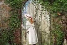 Secret garden / Open the door and what has been hiding?