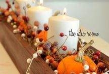 Autumn's Fall Decorating / Autumn Hamilton, the main character in the Finch's Crossing sweet romance series, loves to decorate her home in the fall. Browse some of her favorite things!