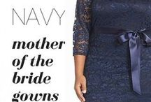 Navy Blue Mother of Bride Gowns / We have the largest selection of Navy Blue Mother of the Bride and Mother of Groom Dresses from many stores like Nordstroms, Dillards, Saks and Bloomingdales. Get inspired and find Tea Length, Long and Cocktail Dresess for the WEdding