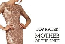 Mother of the Bride Dresses / Has it been frustrating for mom to find a dress for your wedding? Here's a taste of gorgeous mother of the bride dresses she'll love.