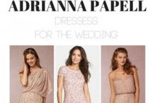 Adrianna Papell dresses for the Wedding / Adrianna Papell is a designer known to make women beautiful. Here''s a few of her dresses that we find the most beautiful. These are all perfect for mothers of the bride and groom.