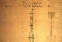 La fondation de la Tour / La construction de la Tour Eiffel