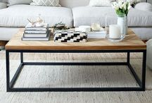 Coffee Table / Beautiful coffee table styling.