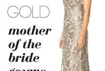 Gold Mother of Bride Dresses / Gold , Champagne and Beige Dresses for the wedding for mom.
