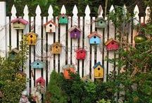 Скворечники - Starling houses