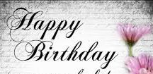 Happy Birthday to a beautiful sister / happy birthday Jane, hope you have a wonderful day.  With lots of love from Helen