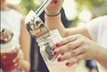Bebemos bonito / Mil y una posibilidades de presentar las bebidas. Porque sabemos que todo nos entra por la vista!! Chin-chin!!