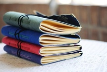 Our handcrafted books / Leather journals, Photo Albums, Wedding Guest books and Ring Pillows, made with love by us.